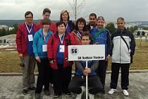 Světáci z Tloskova přijeli z olympijských her v Brně ověnčeni medailemi.
