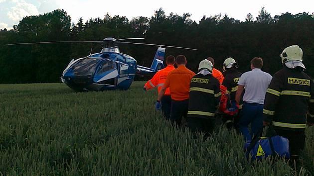 Havárie letadla u Tvoršovic.