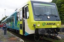První motorové soupravy Arriva mají vyrazit do Prahy do dvou měsíců.