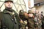 Vánoční sokolnické lovy se v Konopišti konaly o víkendu 10. a 11. prosince už potřetí.