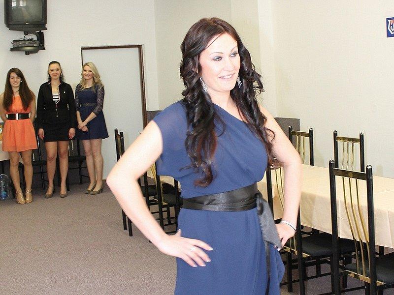 Casting Miss hasička Středočeského kraje 2015.