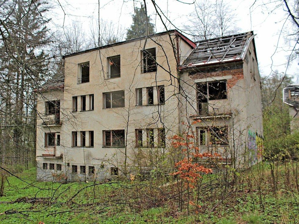 Lázně Stupčice v květnu roku 2021.