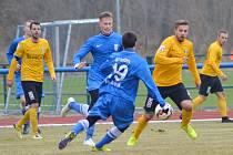 Vlašim prohrála na přírodní trávě Na Lukách v generálce se Sokolovem 0:1.