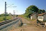 Výstavba IV. železničního koridoru mezi Sudoměřicemi a Voticemi.