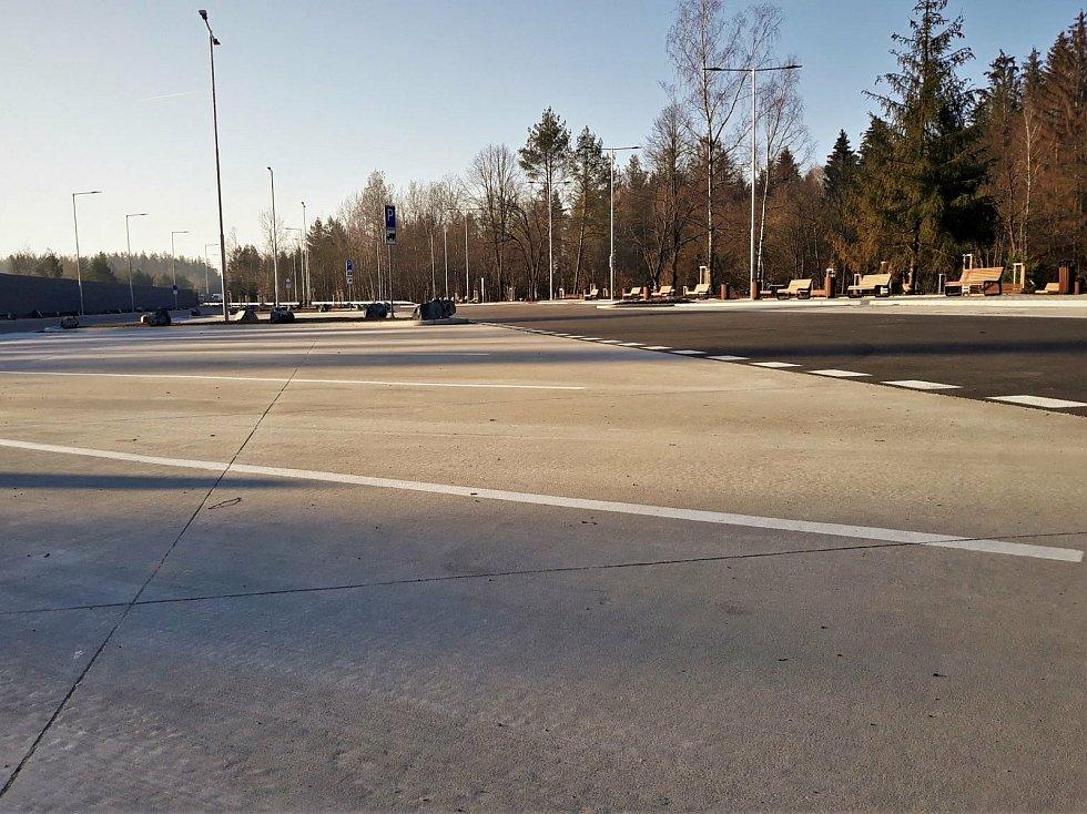 Odpočívka Studený na 70. km dálnice D1.