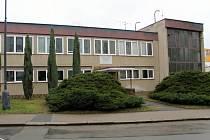 Administrativní budova Městských tepelných zařízení Benešov v Pražské ulici.