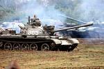 Tankový den ve Vojenském technickém muzeu Lešany.