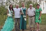 Miss Hasička Evropy 2015 Aneta Nouzovská z SDH Poříčany a 1. Vicemiss Veronika Benáková z SDH Ratměřice.