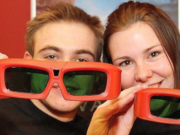 I v Benešově se budou používat pro sledování 3D obrazu speciální brýle.
