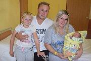 17. září v17.50 přišla na svět malá Nela Krejčí. Při narození vážila 2830 gramů a měřila 48 centimetrů.  S  rodiči, Terezou Křížovou a Michalem Krejčím, a sestřičkou Sárou (6) bude bydlet ve Václavicích.