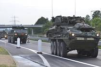 Americký vojenský konvoj mířil přes Česko na cvičení Saber Strike 2018. Archivní foto.