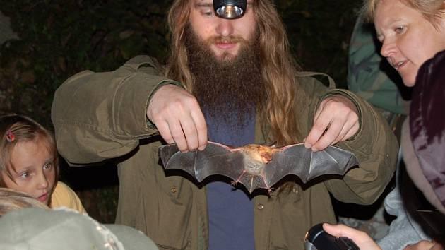 Odchycené netopýry si návštěvníci budou moci prohlédnout a poté je společně vypustíme zpět do přírody.