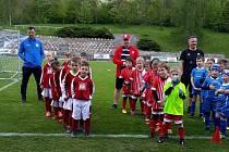 Z fotbalového turnaje BabyFood ve Voticích.