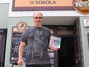 Bronzový byl Ivan Vondrák ze Lbosína, jenž získal fotbalovou knihu.