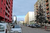 Situace na benešovském sídlišti Bezručova a Na Bezděkově.