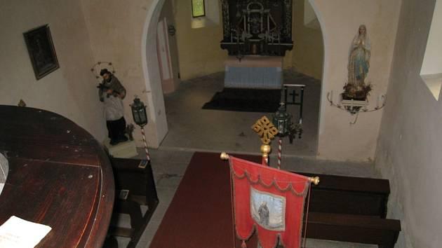 Chátrající kostel svatého Havla čeká na evropské peníze