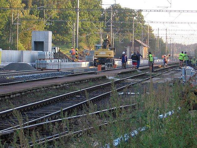 Po dvou měsících cestující nádraží v Olbramovicích nepoznají.