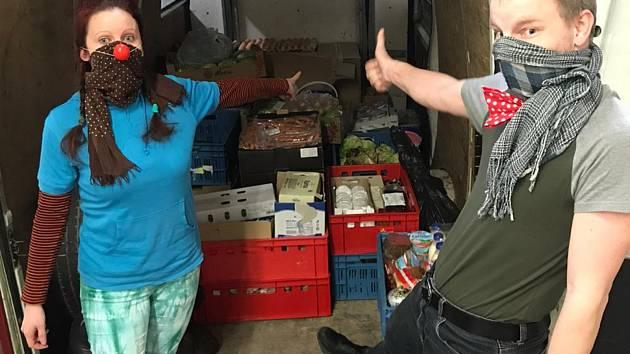 Potraviny rozváží Nadační fond Chance 4 Children
