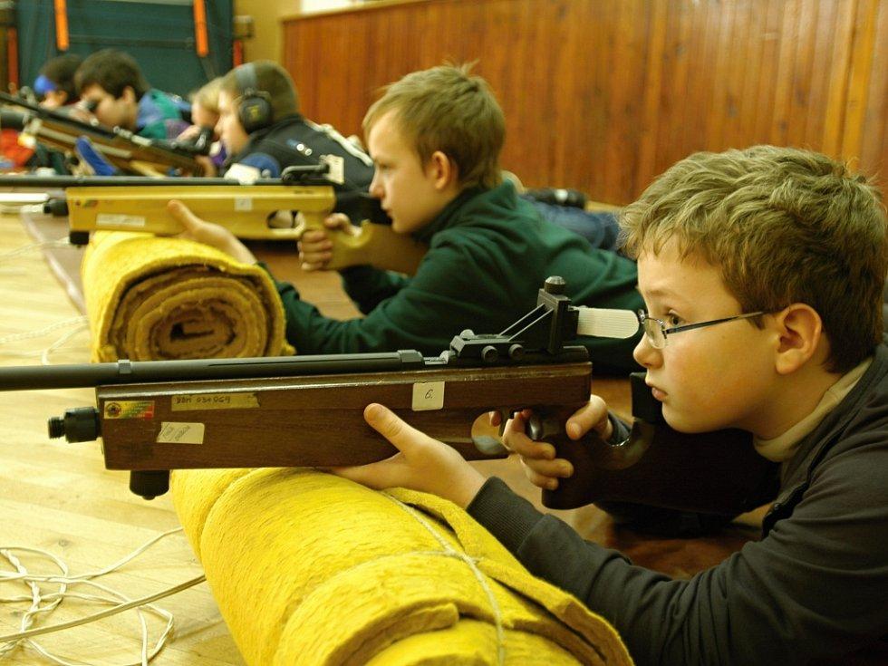 V DDM Benešov se konají také střelecké závody Benešovská diabolka.