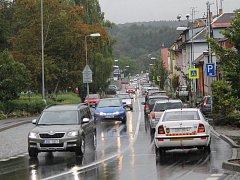 Benešovská Čechova ulice je 7. srpna pod dozorem radarů. Za dva měsíce přístroje načapaly 1586 řidičů.