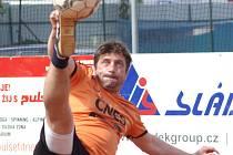 Lídrem B mužstva Šacungu Benešov je zkušený smečař Michal Pacovský.