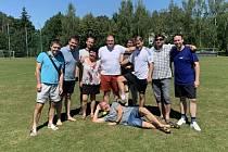 Benefiční fotbalový turnaj Jana Skopečka v Benešove.