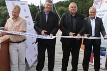 V úterý 28. července se oficiálně otevřela lávka pro cyklisty a pěší ve Zbořeném Kostelci.