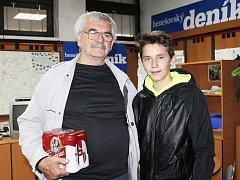 V sedmém kole zvítězil Miroslav Vopálka z Čechtic, který si přišel pro cenu v podobě dárkového balení piva Gambrinus od plzeňského pivovaru, se svým vnukem.