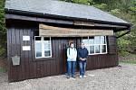 Česká poštovna ze Sněžky našla místo u výstupu z lanovkové dráhy na Monínci.