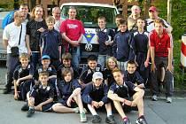 Mladší žáci SK Benešov U13 na turnaji v Německu v Markt Schwabenu, kde získali zlato.