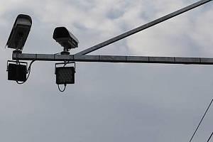 V obcích na Brněnsku přibývají úseková měření nebo radary. Mají zastavit řidiče, kteří překračují rychlost. Ilustrační foto.