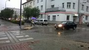 Přívalové deště zasáhly i Benešov. V okresním městě ale hasiči žádnou událost řešit nemuseli.