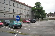 Hlavní objekt benešovských Táborských kasáren.
