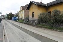 Hodějovského ulice po pokládce potrubí přivaděče. Zprovozněna by měla být od pátku 6. listopadu..