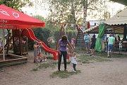 Děti i dospělí byli z koncertu kapely ProMěNY nadšení.