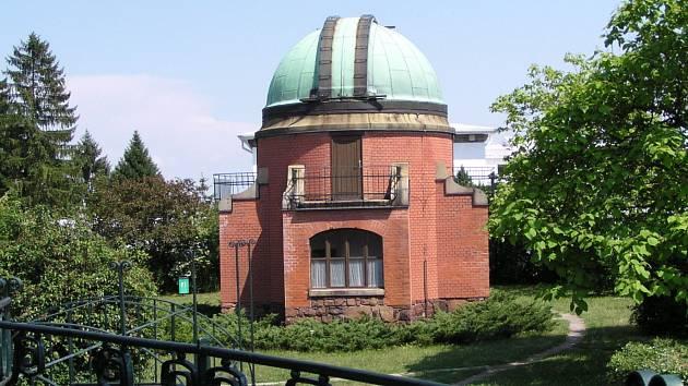 Hvězdárna Ondřejov: historická centrální kopule.