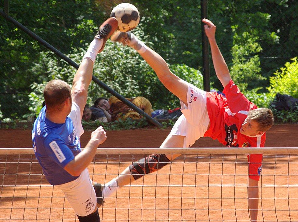 Z nohejbalového turnaje Šacung Cup.
