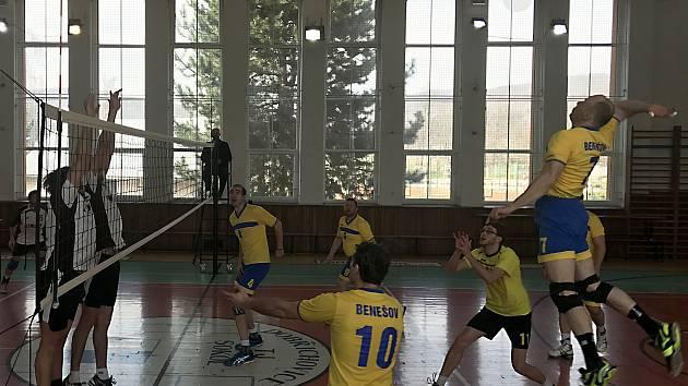Volejbalisté Benešova zakončili sezonu na druhém místě.