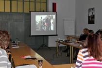 Foto ze semináře Základy správné komunikace s handicapovanými lidmi a seniory