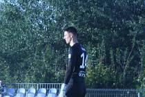 Brankář Jakub Šiman dlouho vyhlížel čisté konto, nakonec o něj přišel kvůli penaltě.