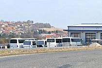Část provozovny je mimo území určeného pro lehkou nerušící výrobu.