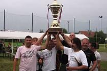 Fotbalový turnaj v Peceradech.