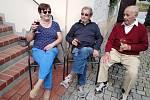 Premiérové vinobraní v Trhovém Štěpánově.