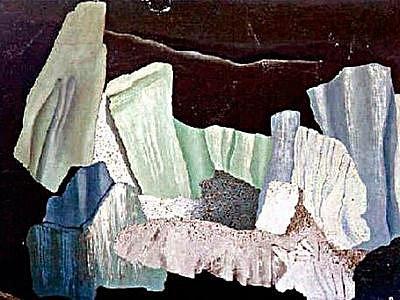 Severní krajina 1931 od známé malířky Toyen