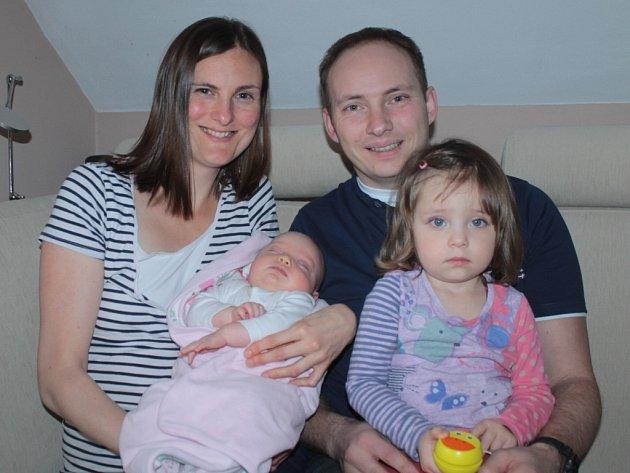 Veronika Nejedlová se stala vítězkou prosincového kola hlasování o Nejsympatičtější miminko prosince.