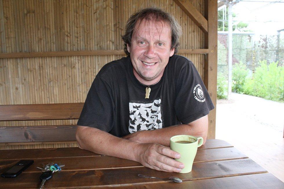 Zakladatel Ochrany fauny Votice, Pavel Křížek.