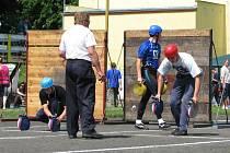 V sobotu 7. června se na stadionu V Lukách vystřídala při soutěžích v požárním sportu hasičská elita z celého Benešovska