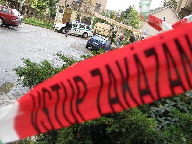 Dům, v jehož suterénu je herna, sousední objekt i nedaleký katastrální úřad byly evakuované.
