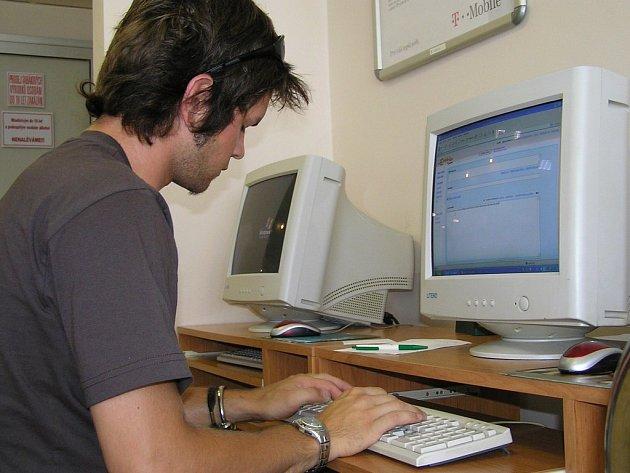 Ilustrační foto: Internetové kavárny jsou vyhledávány