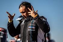 Libor Podmol během druhé etapy Dakaru 2021.